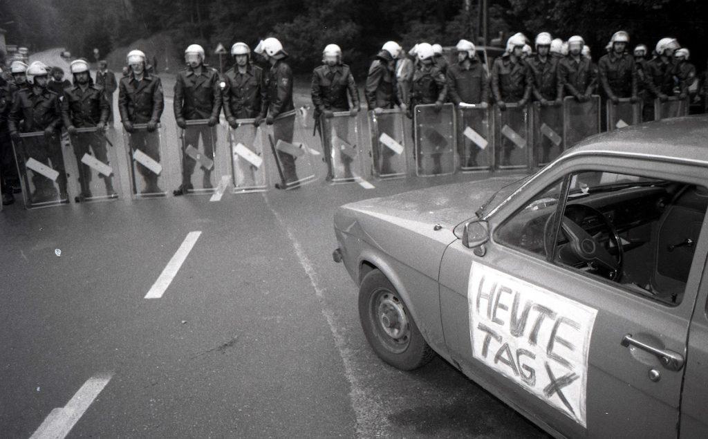 8.10.1984 - TAGX in Gorleben, Bild: G. Zint
