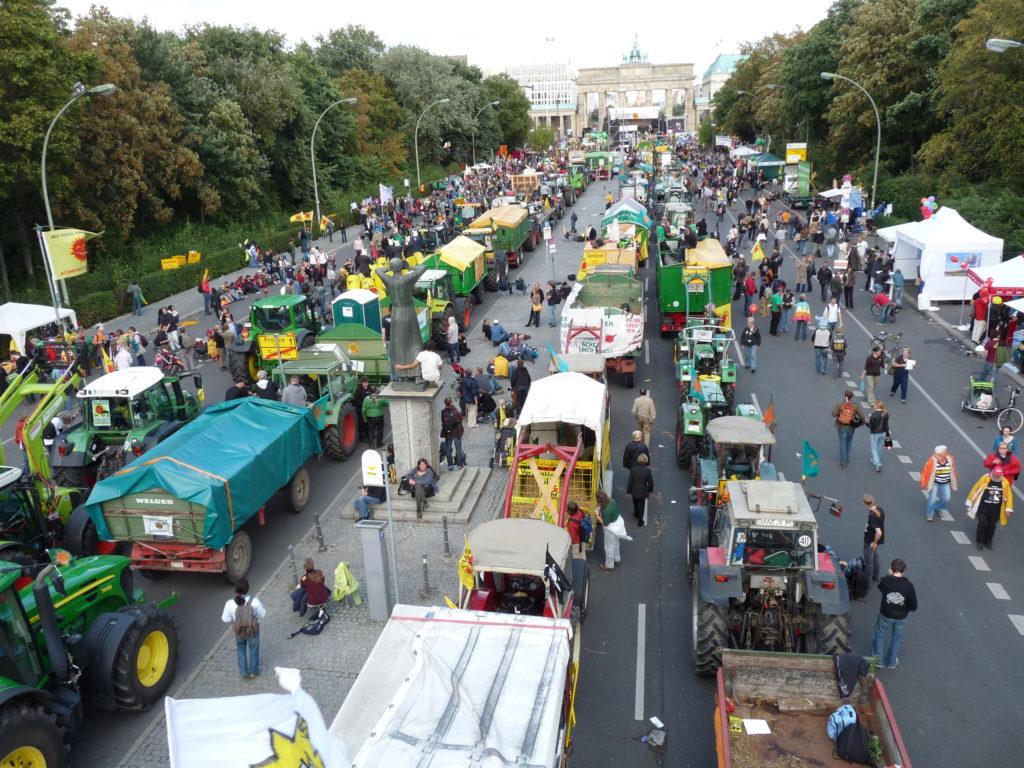 5.9.2009 - Demonstration in Berlin, Bild: G. Zint