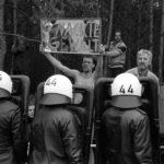 April 1995 - erster Castor nach Gorleben, Bild: G. Zint