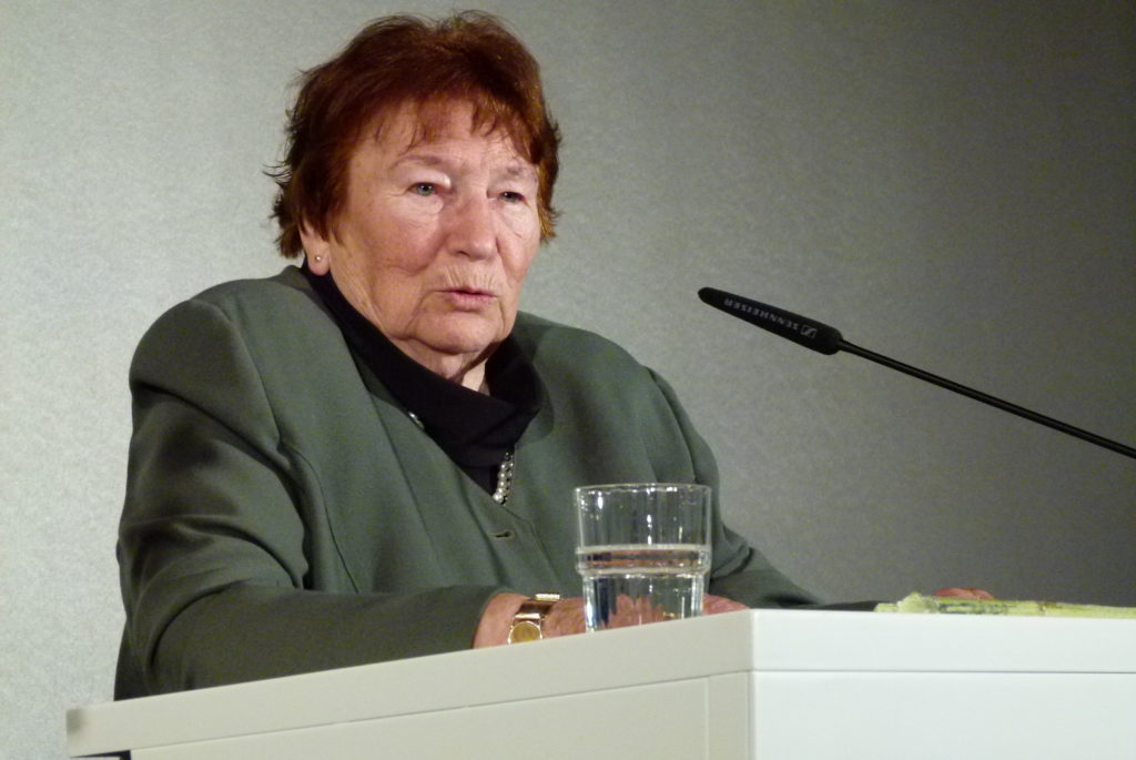 Marianne Fritzen, Verleihung des Petra-Kelly-Preis 2010. Bild: G. Zint