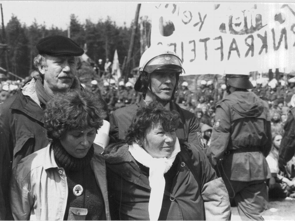 1980- Abi Schulze mit Marianne Fritzen und Ingrid Krüger auf 1004