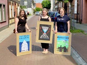 10.6.2021 - Preisverleihung Plakatewettbewerb. Bild: I. & W. Lowin