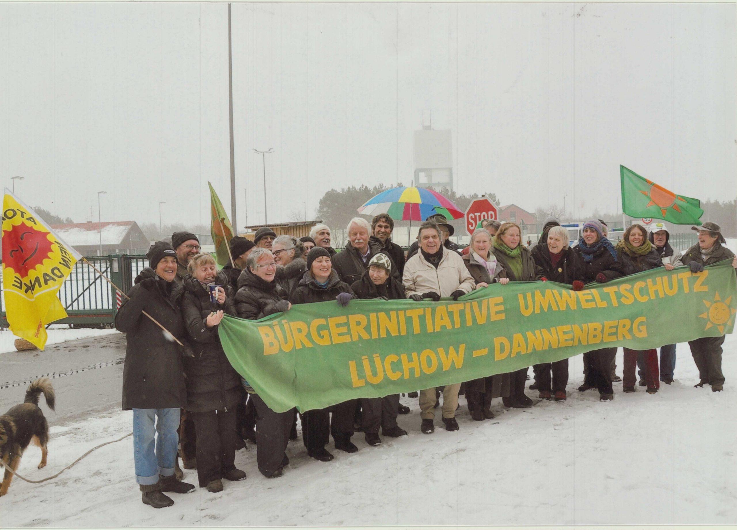 24.2.2013: Treffen ehem. Vorstandsmitglieder der BI in Gorleben