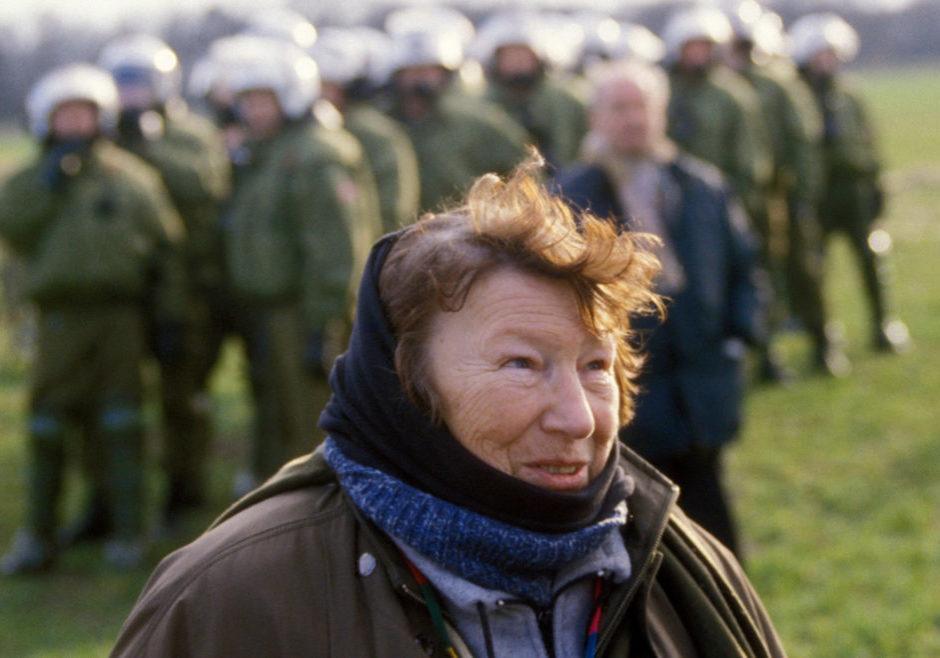 2001: Marianne in Splietau, Castortransport. Foto: Lowin