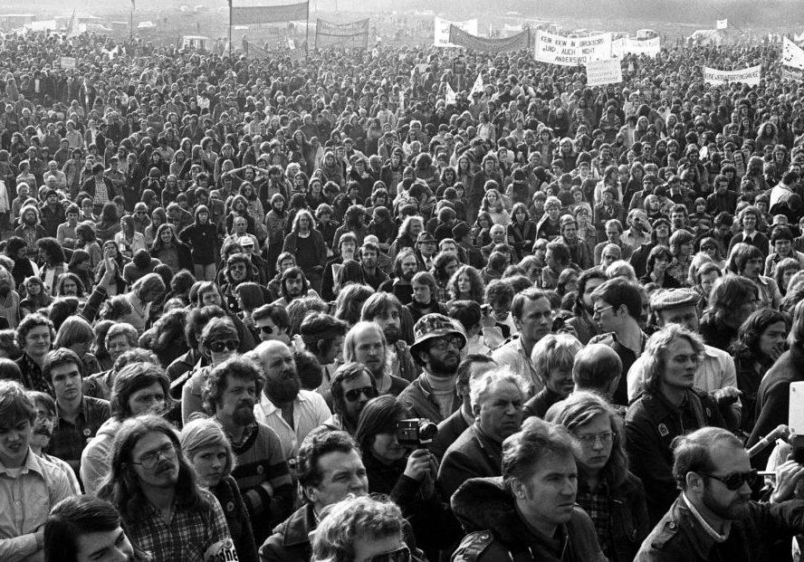 Demo in Gorleben am 12.03.1977, Bild: G. Zint